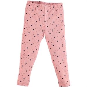 Cvl Powder Pink Girl's Tights Age 6-9