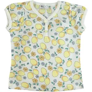 Cvl Girl Kids T-Shirt Yellow 2-5 Years