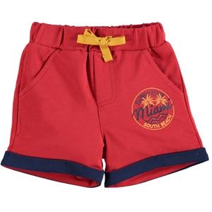 Kujju Baby Boy 6-18 Months Red Shorts