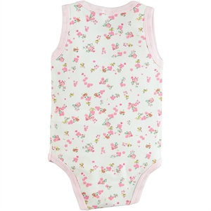 Civil Baby 3-36 Months Baby Girl Pink Bodysuit With Snaps (3)