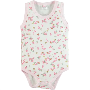 Civil Baby 3-36 Months Baby Girl Pink Bodysuit With Snaps