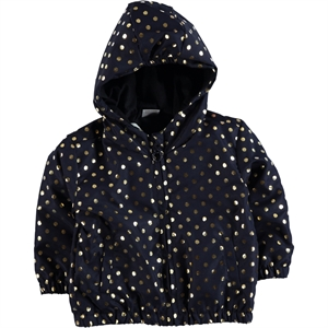 Civil Baby Baby Girls 6-18 Months Navy Blue Micro Mac