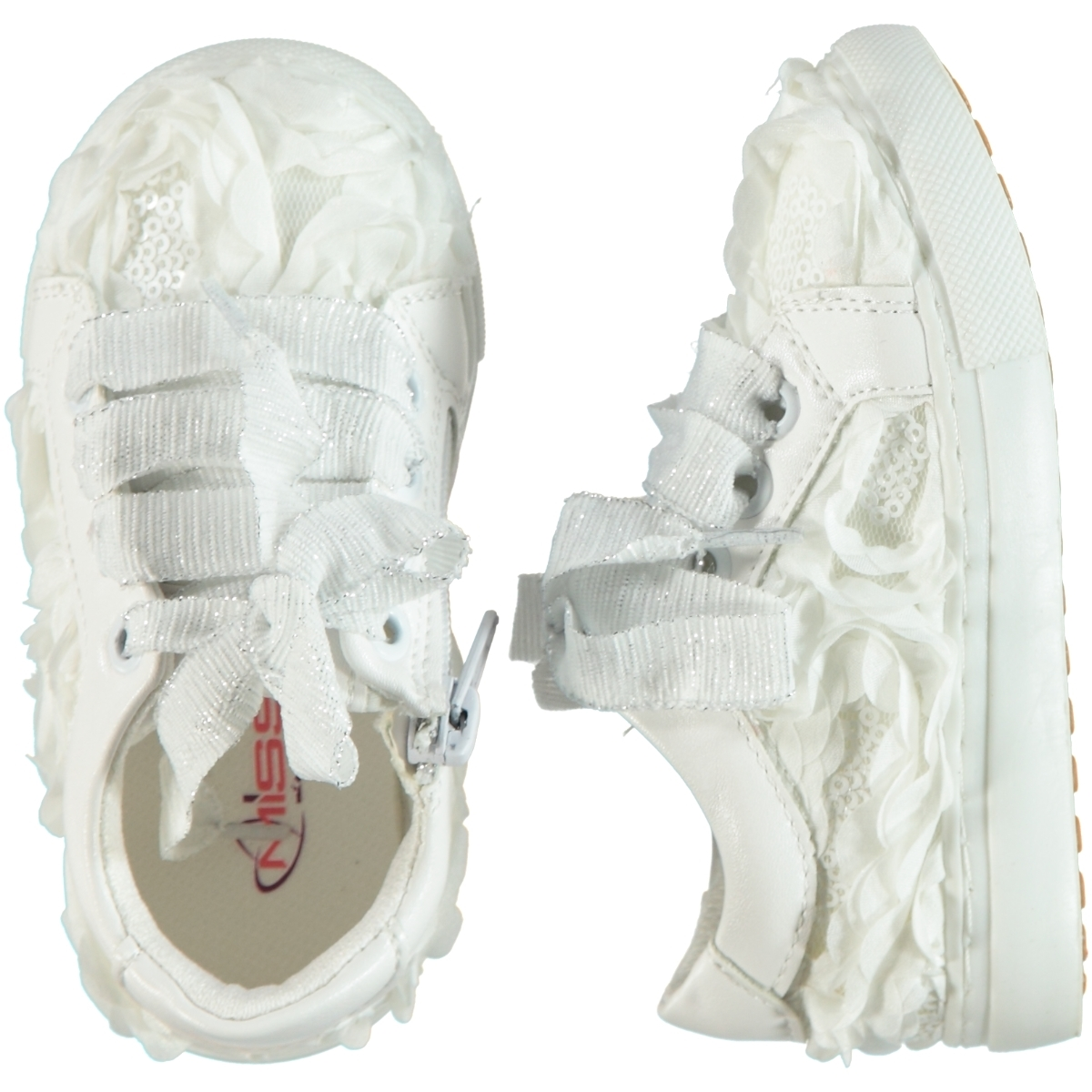 Missiva White Baby Shoes 21-25 Number