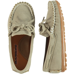 Barbone Boy Shoes Beige 31-35 Number