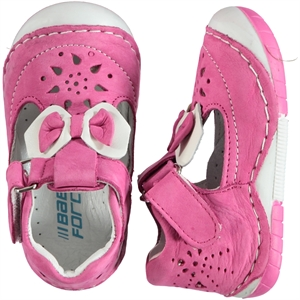 Baby Force First Step Baby Shoes Fuchsia Number 19-22