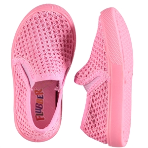 Flubber Pink Mesh Baby Shoes 21-25 Number