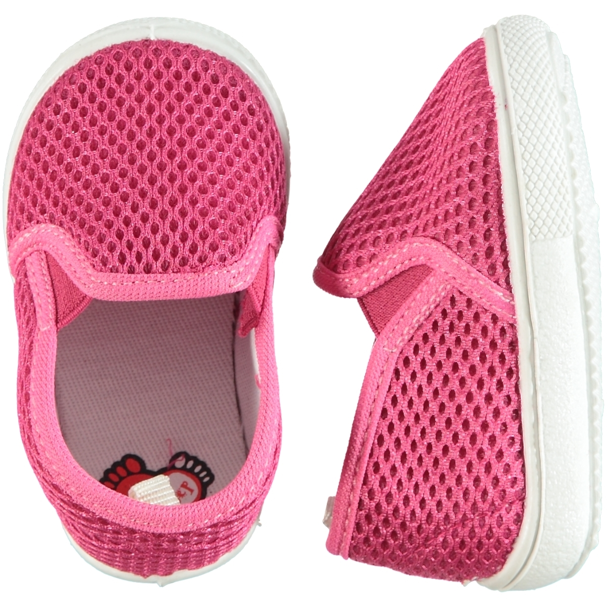 First Step 19-25 Fuchsia Shoes Number