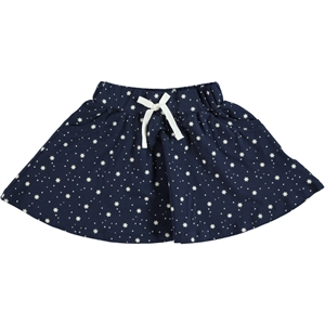 Cvl 2-5 Years Navy Blue Skirt Girl