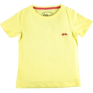 Cvl Erkek Çocuk Tişört 10-13 Yaş Sarı