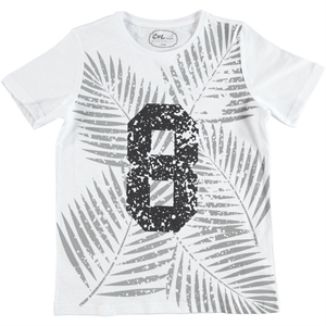 Cvl Boy T-Shirt Age 10-13 White