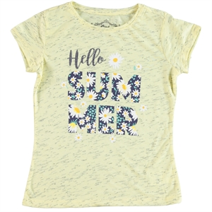 Cvl Girl Kids T-Shirt Age 6-9 Yellow