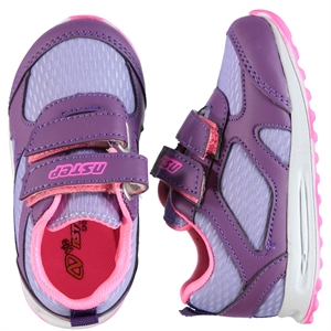 Nstep Baby Number 21-25 Purple Sneakers