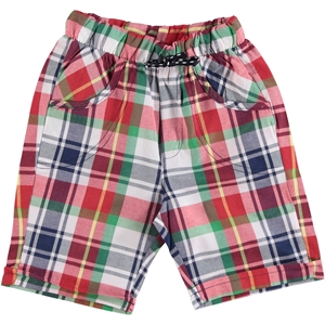 Kumru 2-5 Years Red Boy Shorts