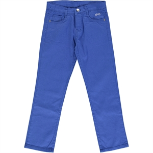 Civil Boys Blue Linen Pants Saks Boy Age 10-13
