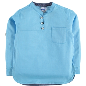 Civil Boys The Ages Of 10-13 Boy Shirt Turquoise