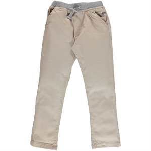 Civil Boys Beige Linen Trousers Age 6-9 Boy