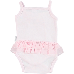 T.F.Taffy Baby Girl Bodysuit With Snaps Taffy Pink, 3-9 Months (2)