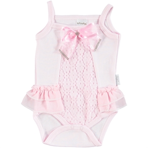 T.F.Taffy Baby Girl Bodysuit With Snaps Taffy Pink, 3-9 Months (1)