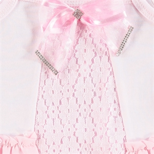 T.F.Taffy Baby Girl Bodysuit With Snaps Taffy Pink, 3-9 Months (3)