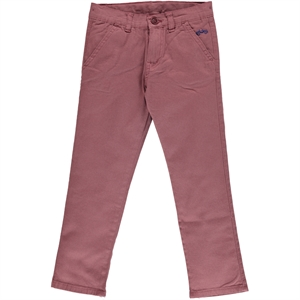 Civil Boys Ages 6-9 Boy Linen Pants Burgundy