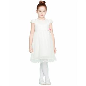 Missiva Kız Çocuk Elbise 6-9 Yaş Ekru