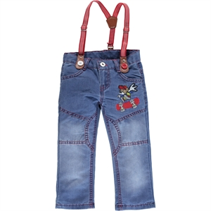 Civil Boys Boy Jeans Red 2-5 Years