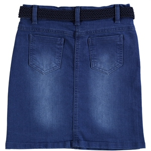 Civil Girls Saks Denim Blue Skirt Girl Age 10-13 (3)
