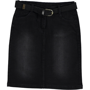 Civil Girls Black Denim Skirt Girl Age 10-13