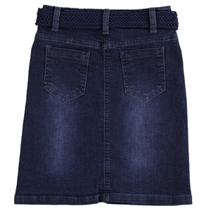 Civil Girls Navy Blue Denim Skirt Girl Age 10-13 (3)