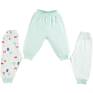 Misket Only the lower baby boy 3-Months 1-9 mint green