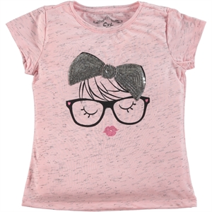 Cvl Girl Kids T-Shirt Pink, Age 6-9