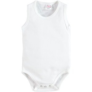 Civil Baby 3-24 Months Baby Bodysuit With Snaps Ecru