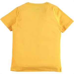 Cvl Boy T-Shirt Age 6-9 Mustard (3)