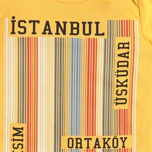 Cvl Boy T-Shirt Age 6-9 Mustard (2)