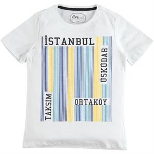 Cvl Boy T-Shirt White Ages 6-9 (1)