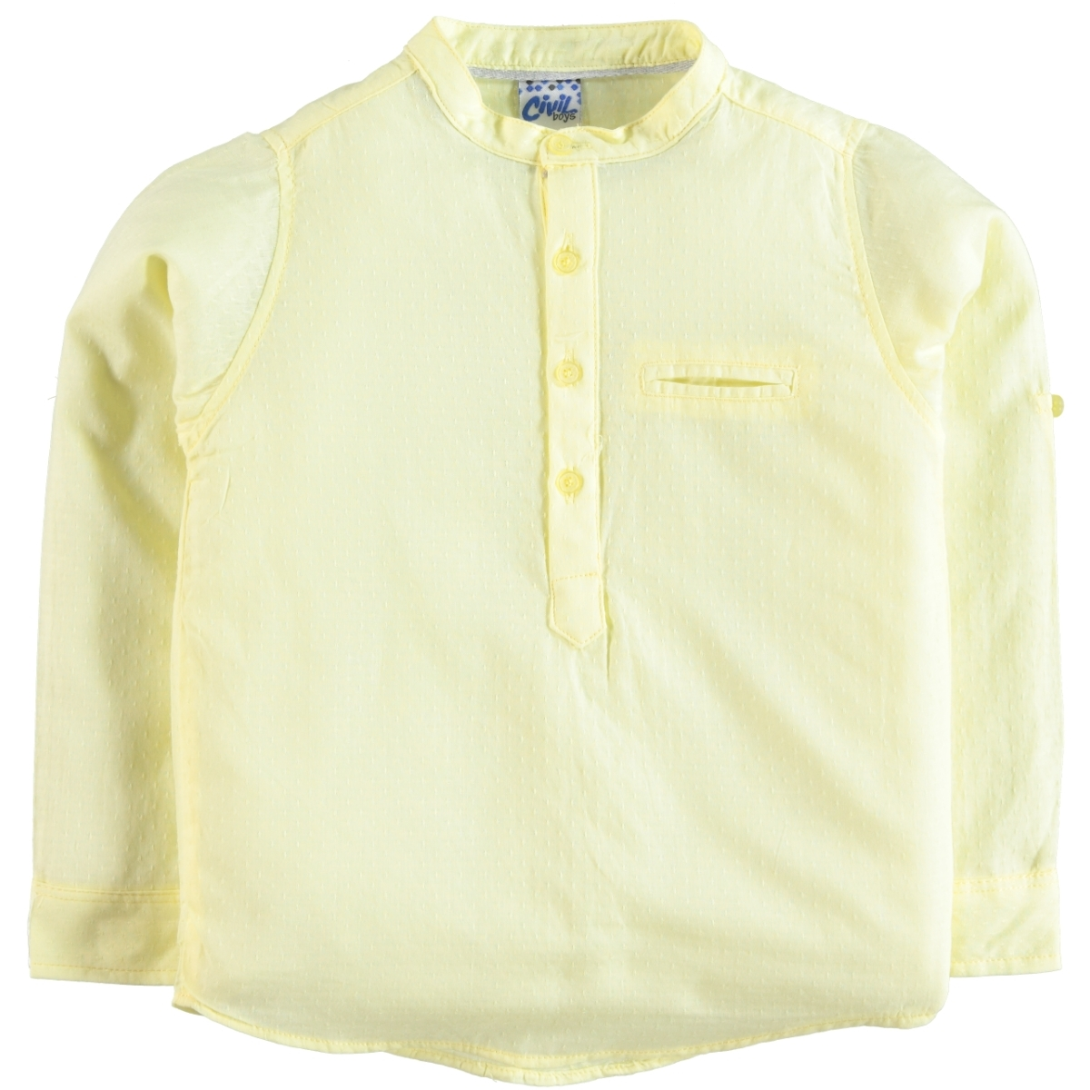 Civil Boys Yellow Shirt Boy Age 6-9