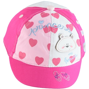 Kitti 0-18 Months Baby Girl White Hat Cap