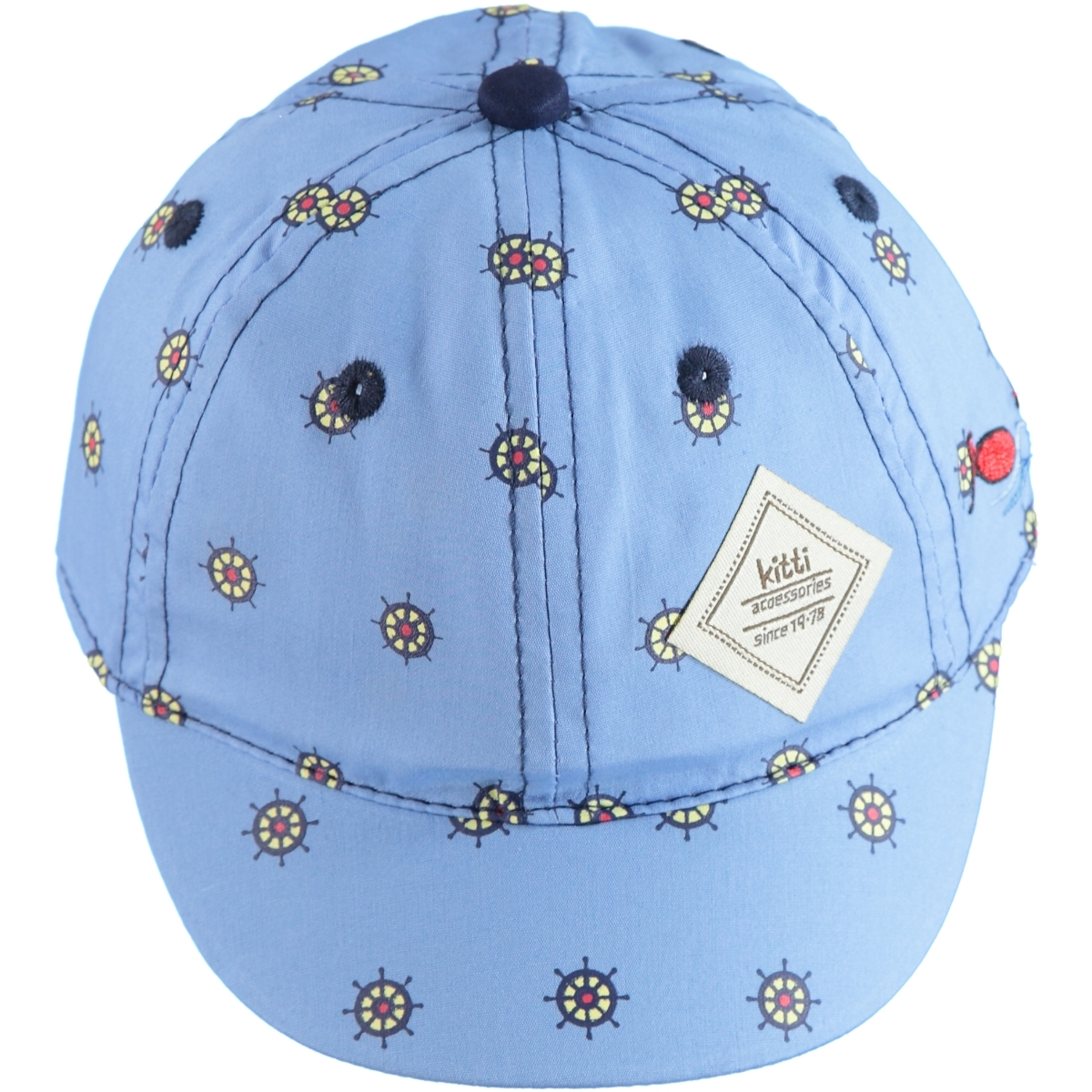 Kitti 0-18 Months Baby Boy Blue Cap Hat