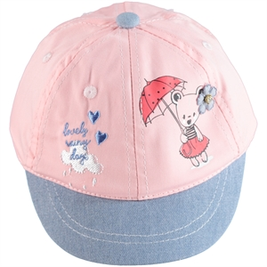 Kitti 0-18 Months Baby Girl Hat Cap Pink Powder