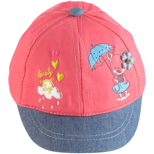 Kitti 0-18 Months Baby Girl Hat Cap, Tongue In Cheek