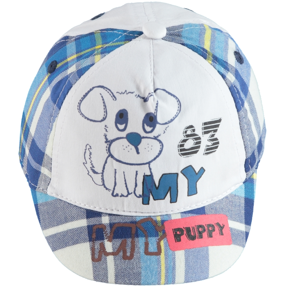 Kitti 0-18 Months, Baby Boy Cap Hat White