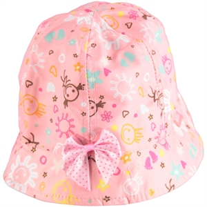 Kitti Pinkish Orange Hat Girl Boy Age 1-4