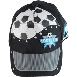 Kitti Boy Cap Hat Black Ages 4-8