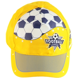Kitti Yellow Cap Boy Hat Ages 4-8