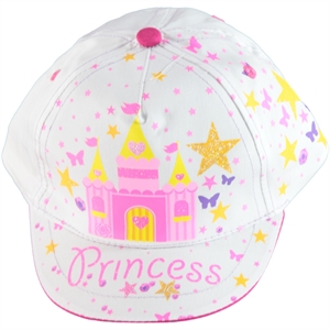 Kitti Age 1-4 Girl Boy Hat Cap White