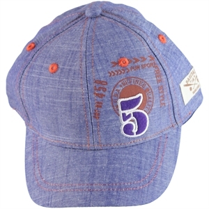 Kitti Boy Blue Cap Hat Ages 4-8 (1)
