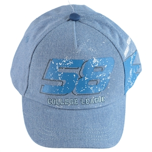 Kitti Boy Blue Cap Hat Ages 4-8