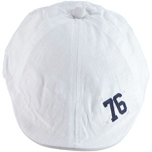 Kitti White Boy Hat Ages 4-8