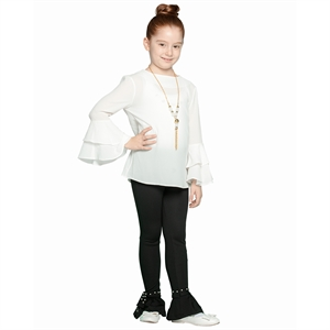 Civil The Ages Of 2-10 Girl Black Tights