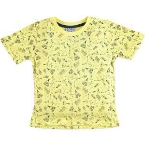 Civil Boys Boy T-Shirt Yellow 2-5 Years